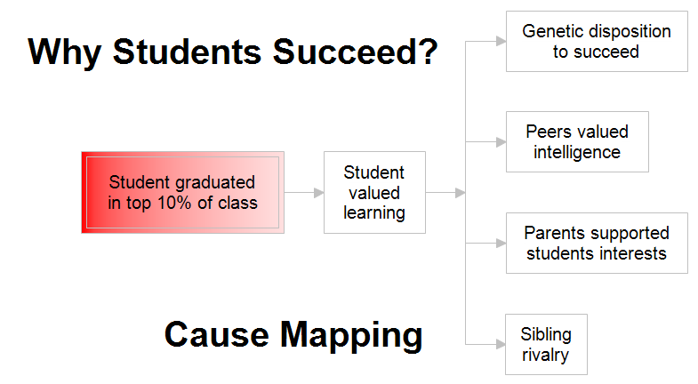 Cause Map: Why Students Succeed